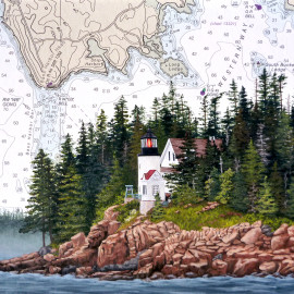 Bass Harbor Headlight Lighthouse